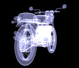 Motorcycle. X-Ray