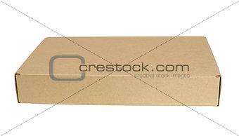 Close cardboard box