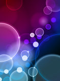 Bubble Abstract Color Background
