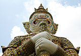 Giant in Wat Phra Kaeo, The Royal Grand Palace - Bangkok, Thaila