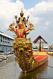 Thai royal barge, supreme art of Thailand.