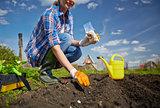 Garden worker