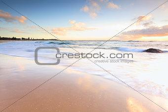 Beautiful morning at Australian beach