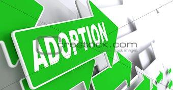 Adoption Word on Green Arrow.