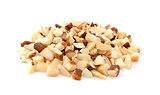 Chopped brazil nuts