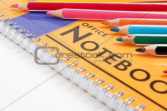 office notebook and School supplies