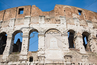 detail of the coliseum