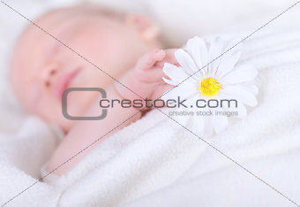 Little child asleep