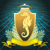 The Seahorse shield