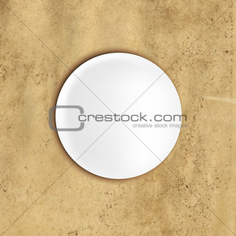 Abstract Vintage Background With Speech Bubble
