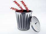 problem trash