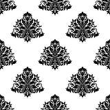 Vintage seamless pattern in damask style