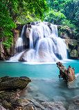 Waterfall at Kanchanaburi Province, Thailand