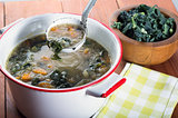 White Bean and Kale soup