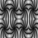 Design seamless monochrome textile pattern