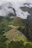 Machupicchu mountain with citatel