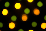 Background: Coloured Leds Bokeh