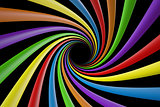 Swirly colorful lines