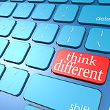 Think different keyboard