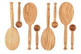 Rustic Oak Spoons
