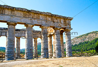 Ancient temple of Segesta