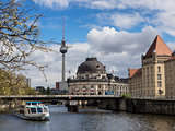 Museum island on Spree river Berlin, Germany