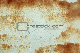 Abstract rusty metal surface