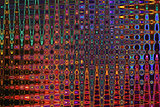 Color Background and Abstract Art - Rainbow of Colors