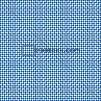 Blue and White Woven Background