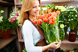 Profession of florist