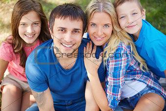 Restful family