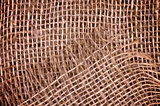 Burlap Sack Background