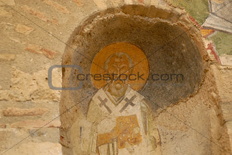 fresco -  Saint Nicholas of Myra