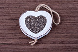 Chia in heart