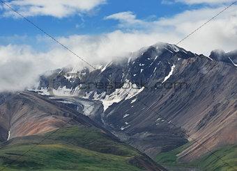Alaska Landscape In Denali National Park