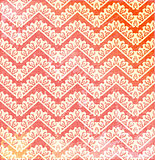 vector Lace vintage background with chevron