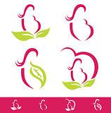 Natural Pregnancy Design Set