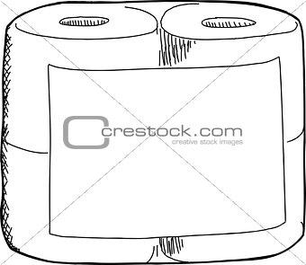 Toilet Paper Sketch