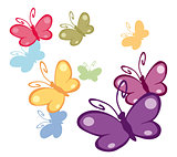 colorful butterflies 2