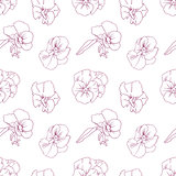 Elegant floral wallpaper