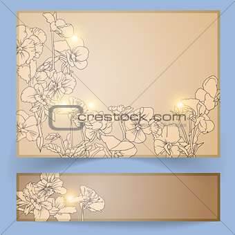Greeting card and banner