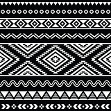 Vector folk seamless aztec ornament, ethnic pattern