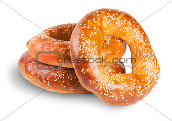 Three Bagels