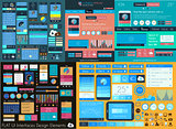 Flat UI Mega Collection: Icons: web and  technology