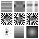 Nine very needed vector pattern