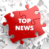 Top News on Red Puzzle.