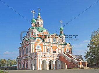 Church Simeon Stylite in Great Ustyug