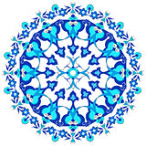 blue oriental ottoman design twenty-eight