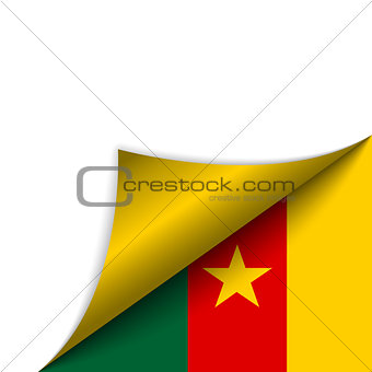 Cameroon Country Flag Turning Page