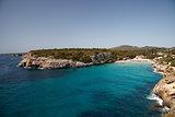Rocky sea bay